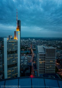 Commerzbank Tower, Frankfurt, Frankfurt am Main, Maintower, Franfurt am Main Skyline, Frankfurt Skyline